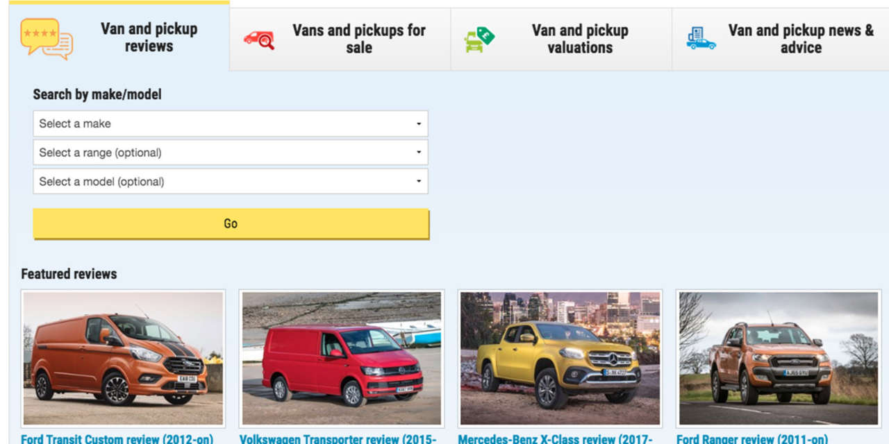 PARKERS VANS AND PICKUPS – RELAUNCHED, REFRESHED AND THE NEW NAME FOR PARKERS VANS