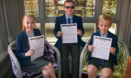 Triple competition achievement for Red House School pupils