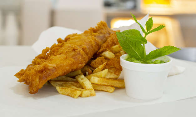 Beer batter comes to the North East fish and chip shop