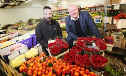 Local fresh flower wholesaler teams up with commercial law firm amid expansion