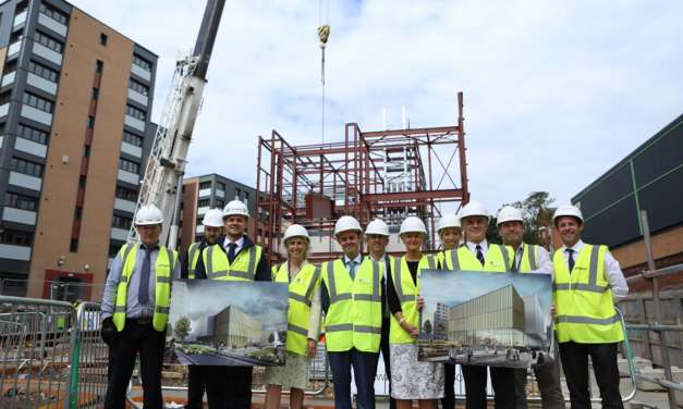 New £16m Sports Centre starts to get in shape