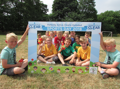 Perfectly hydrated, clearly active! Perfectly Clear sponsors local sports day