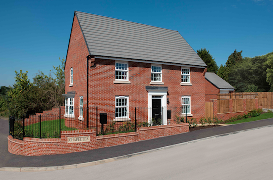 New Show Homes now open at David Wilson Homes' Chapel Lea development in Flockton!