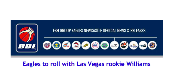 Eagles to roll with Las Vegas rookie Williams