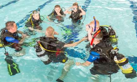 Youngsters realise diving dream