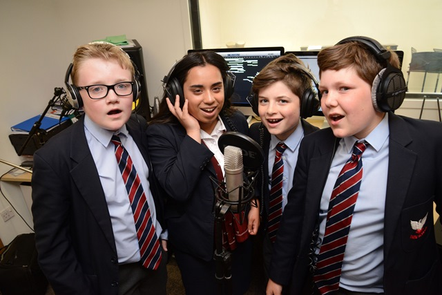 YARM SCHOOL'S MUSIC PUPILS RAISE MONEY FOR SHELTER WITH CHARITY SINGLE