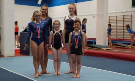 Stockton Gymnasts Head Over Heels With Newcastle Building Society Equipment Grant
