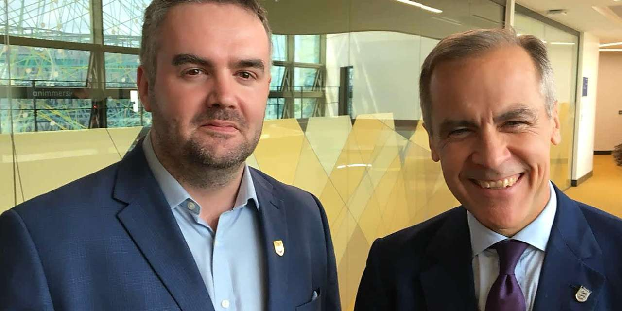 North East Tech Firm Demonstrates Region's Innovation to Governor of the Bank of England