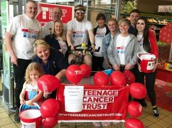 McKENDRICK VILLAS ALDI RAISES £1,500 TO SUPPORT YOUNG PEOPLE FACING CANCER