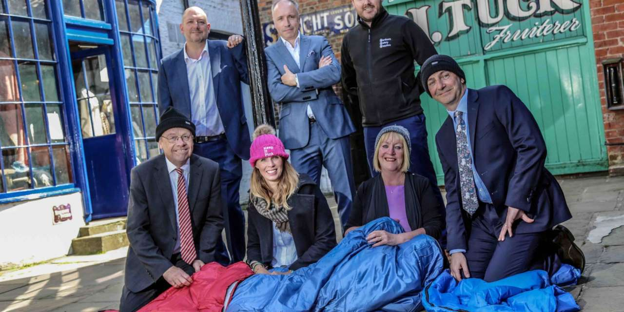 SLEEP ON IT! TEES BUSINESSES CHALLENGED TO SLEEP OUT FOR CHARITY