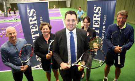 ACE NEW TENNIS WORLD FACILITIES UNVEILED BY TEES VALLEY MAYOR