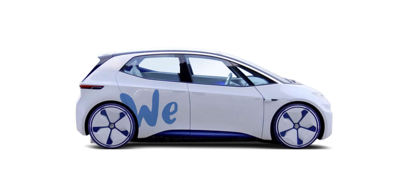 "VOLKSWAGEN TO OFFER ""ZERO-EMISSION"" CAR SHARING SERVICES IN FUTURE"