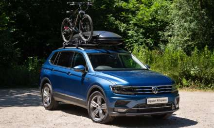 VOLKSWAGEN ACCESSORIES ENSURE THE TIGUAN ALLSPACE IS READY FOR THE SUMMER HOLIDAYS