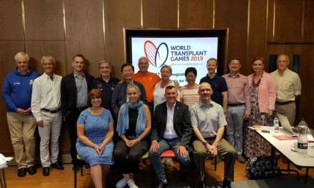 International delegation visits the North East as preparations step up for World Transplant Games next year