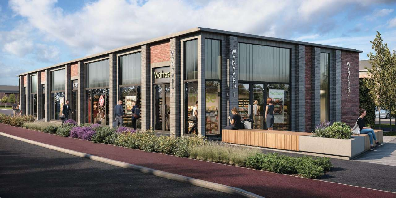 PLANNING GRANTED FOR NEW RETAIL UNITS  AT WYNYARD BUSINESS PARK