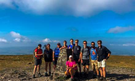 Young Hay & Kilner Solicitors Overcome Ups And Downs Of Yorkshire Three Peaks Charity Walk