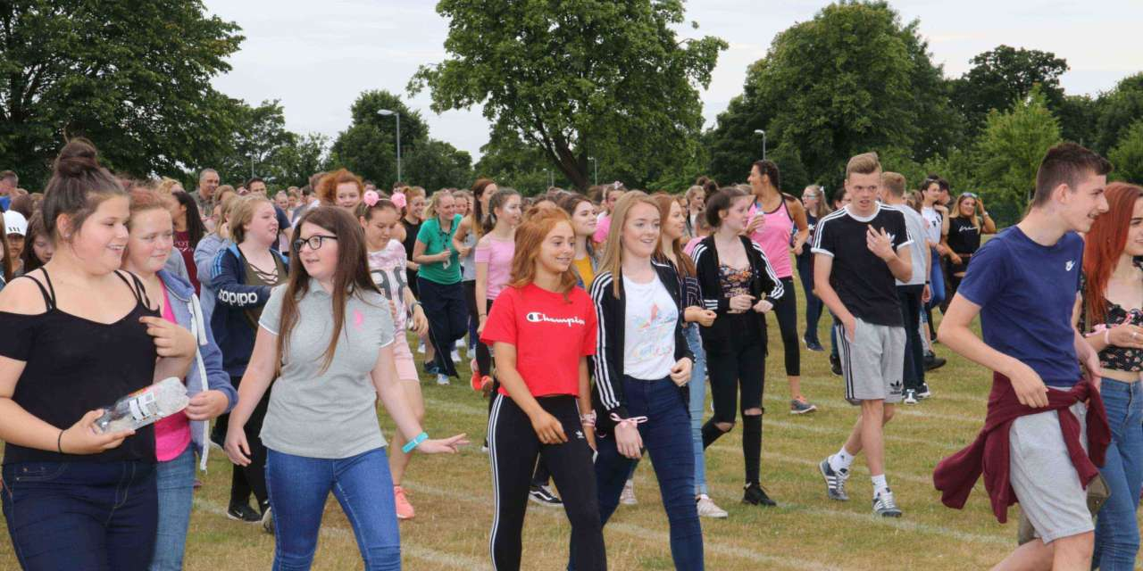 Students and staff on the run for charity