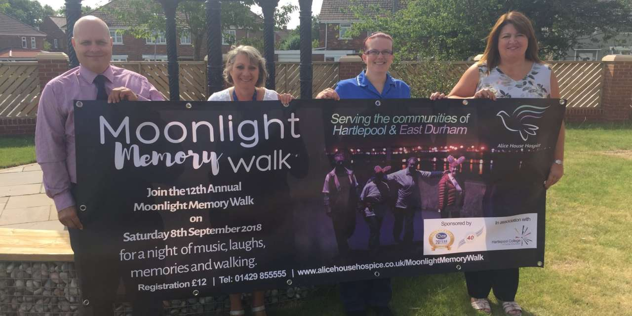 Hartlepool businesses join forces to support local hospice
