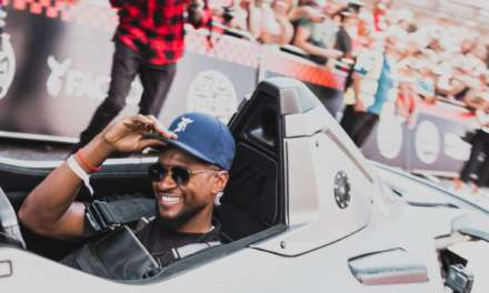 MUSIC SUPERSTAR USHER KICKS OFF GUMBALL 3000 IN LONDON BEHIND THE WHEEL OF THE BAC MONO