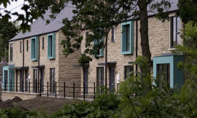 Newcastle architects' new social housing project sees first residents move in