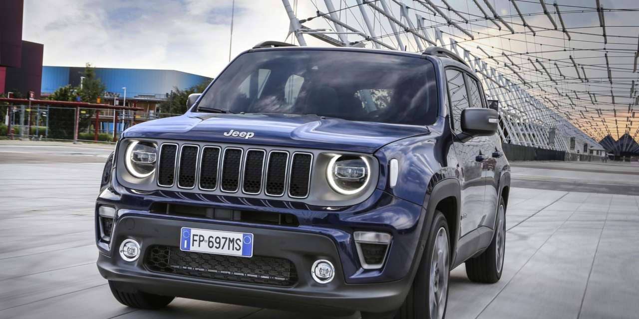 UK PRICING ANNOUNCED FOR NEW JEEP RENEGADE