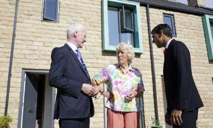 New affordable housing scheme opened