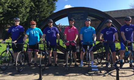 GET ON YER' BIKE FOR CANCER RESEARCH UK'S CYCLE 300
