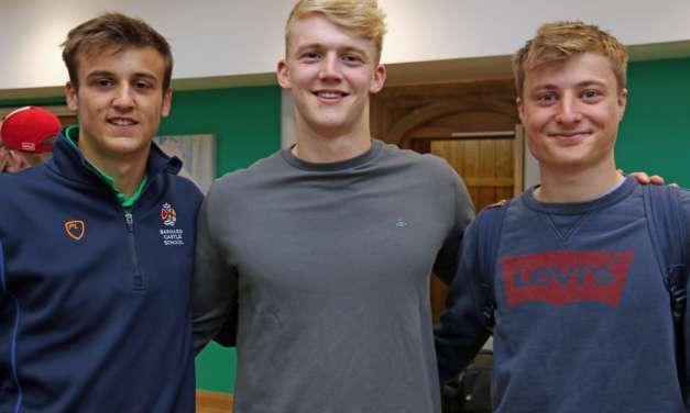 Injured rugby captain gets a break as Barnard Castle School students celebrate A-Level results