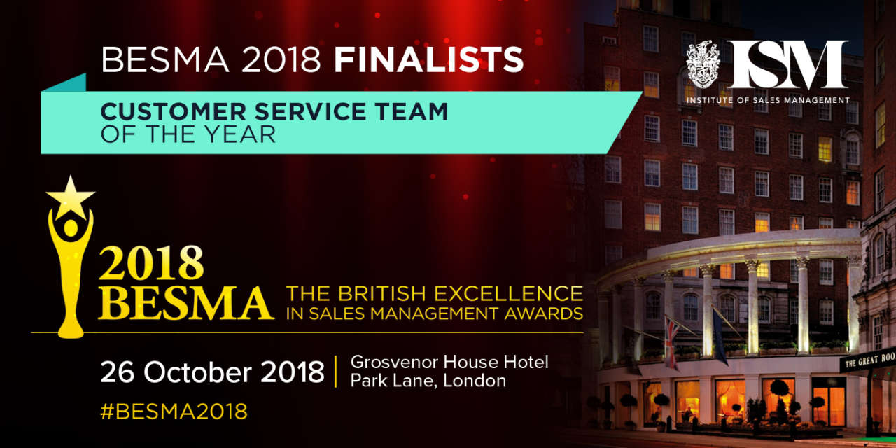 MyFirmsApp Celebrates as Finalist in BESMA's Customer Service Team of the Year Award