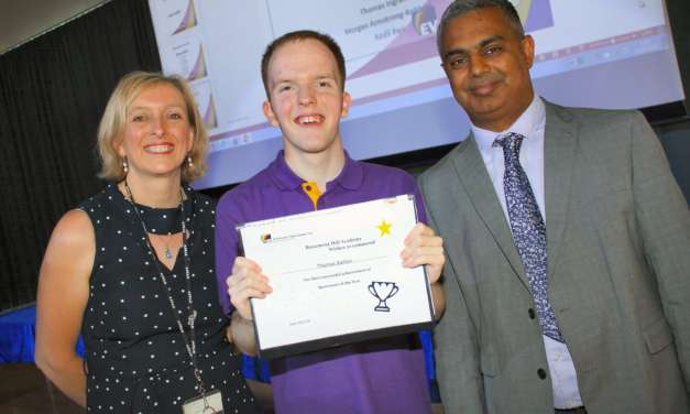 Students win high praise for achievements and overcoming disabilities