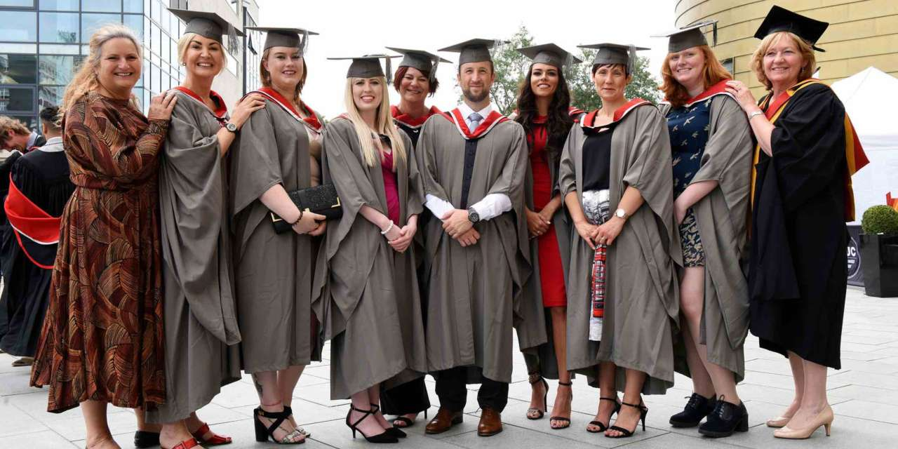 Healthcare staff are the first to graduate from new programme