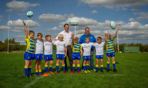 Mayor Trains With Junior Rugby League Team to Mark Bid Milestone