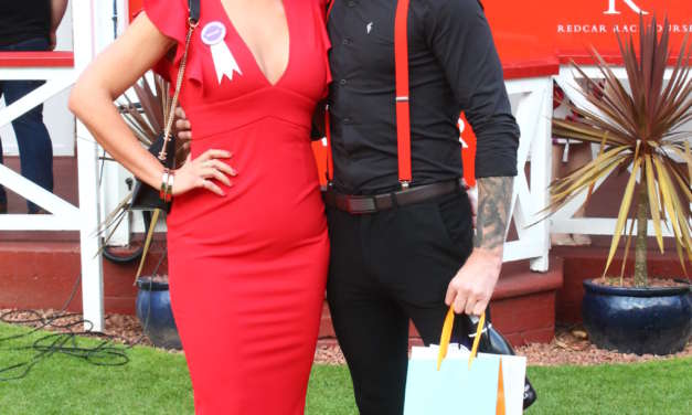 Putting on the style at Redcar Races
