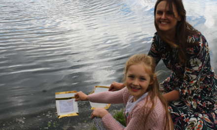 Floating memories of loved ones to be launched on lake