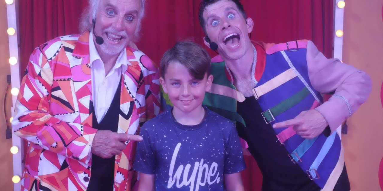 Brave Cole meets comedy heroes who helped him through seven weeks in hospital