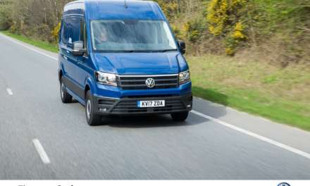 FITTING AEB AS STANDARD ON ALL VANS COULD STOP ALMOST 2,500 CRASHES PER YEAR