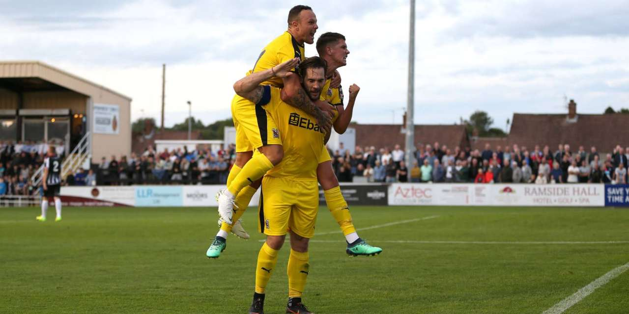 Quakers denied victory by late goal at Spennymoor