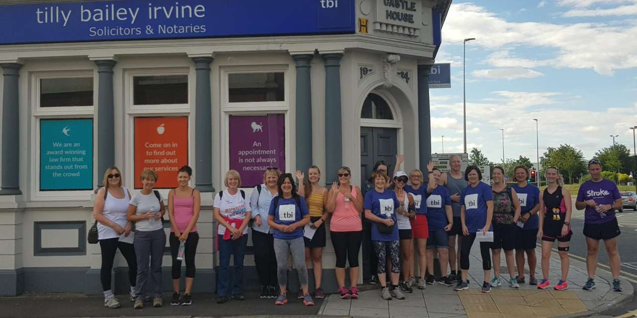 Law Firm Tilly Bailey & Irvine Raise Over £1,100 For Dementia
