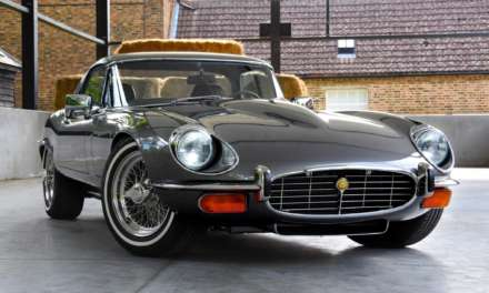 IS THIS THE HIGHEST SPECIFICATION E-TYPE SERIES 3 EVER? E-TYPE UK UNVEILS RESTOMOD 6.1 V12 JAGUAR E-TYPE