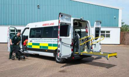 RENAULT MASTER HELPS WELSH OUTPATIENTS ON THE ROAD TO RECOVERY
