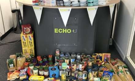 Echo-U Team Steps Up to Support Britain's Biggest Foodbank