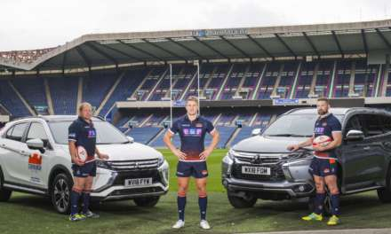 EDINBURGH RUGBY STARS JOHN BARCLAY AND WP NEL ANNOUNCED AS MITSUBISHI MOTORS IN THE UK BRAND AMBASSADORS