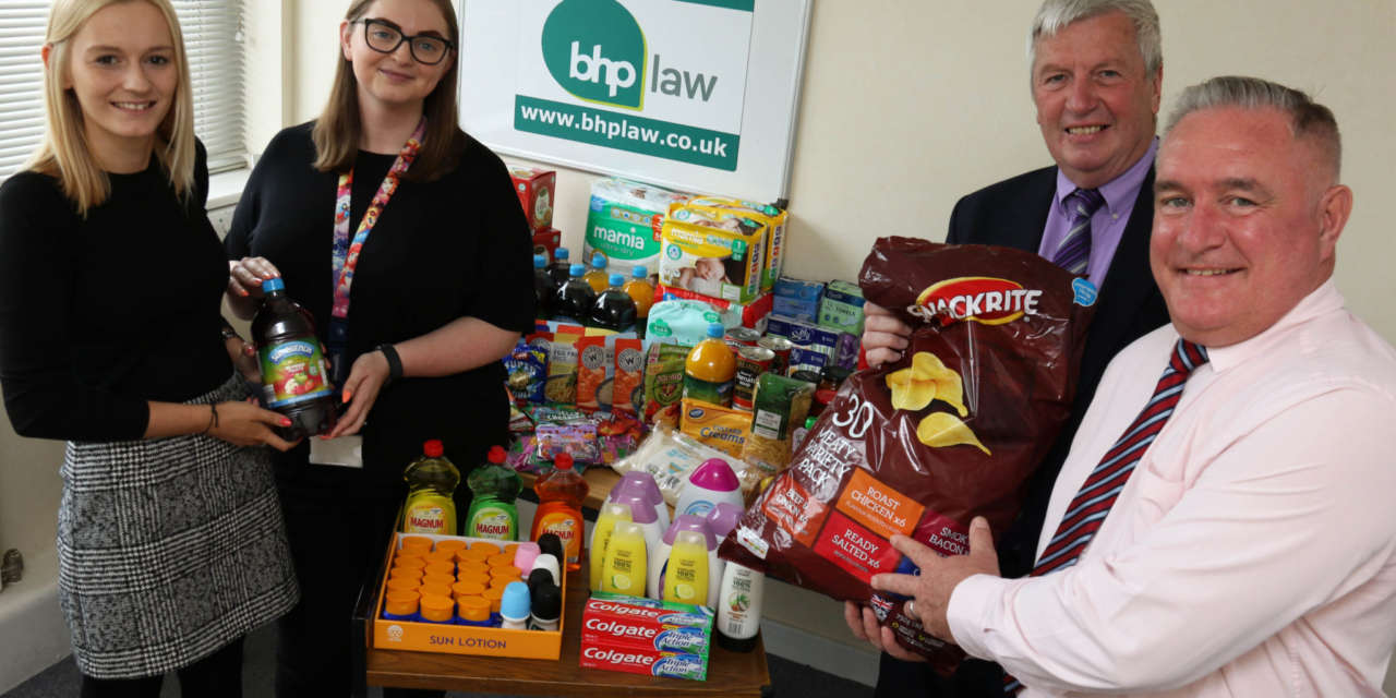 Law firm staff did deep to help needy families