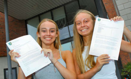 Record-breaking students do it at the double