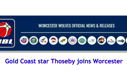 Gold Coast star Thoseby joins Worcester
