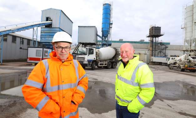 Production up 18% as Concrete Manufacturer Cements Future in North East