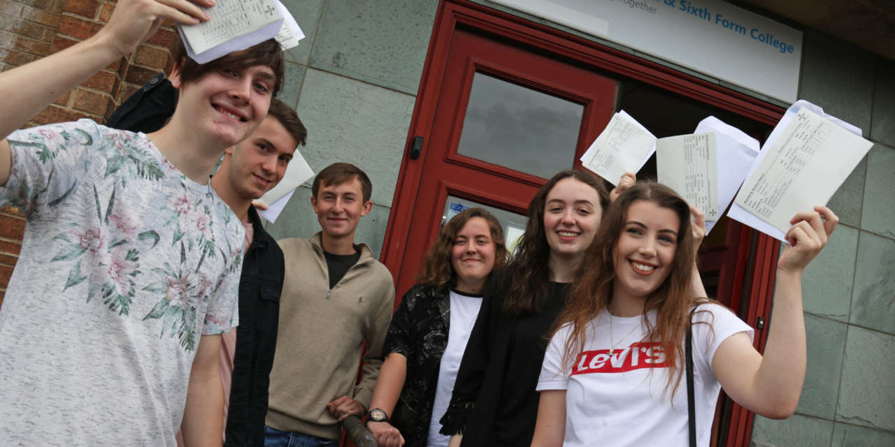 Students flying high after set of top A-Level results