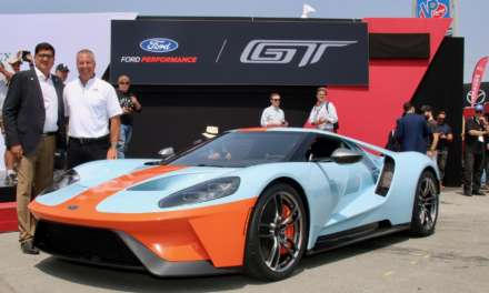 GULF AND FORD MOTOR COMPANY JOIN FORCES FOR ANOTHER LUBRICANT INDUSTRY FIRST WITH THE '68 HERITAGE EDITION FORD GT