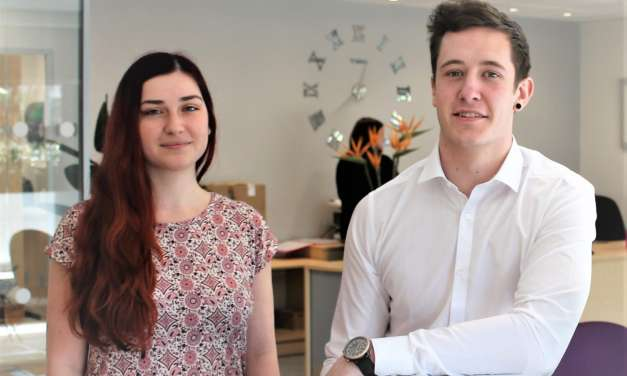 Undergraduate recruitment scheme sees duo land jobs