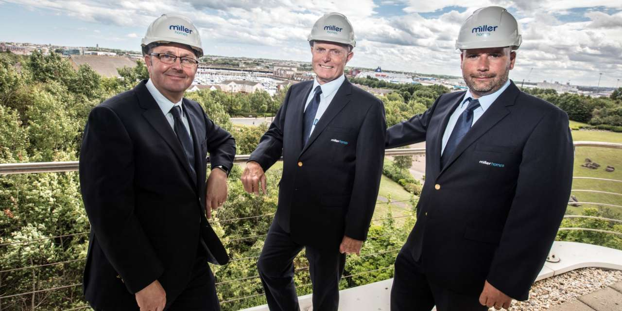NHBC Quality Awards Hat-trick for Miller Homes North East